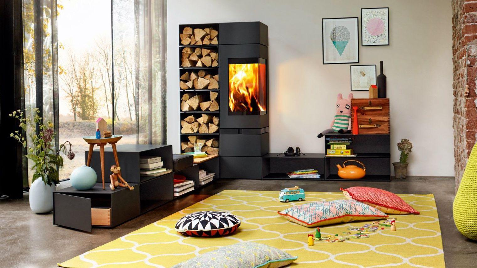 Chaudi re bois l id al pour une maison bioclimatique maison et cologie - Cout chauffage maison 100m2 ...