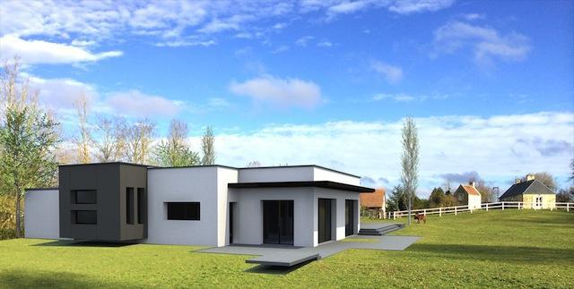 Une maison bioclimatique l avenir en tant que maison moderne maison et - Consommation moyenne d une maison ...